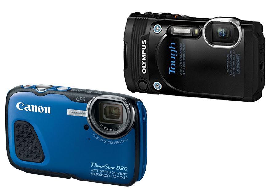Canon PowerShot D30 vs  Olympus TG 860 | Shootdigitalcameras com