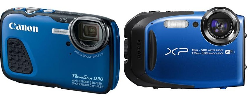 Canon Powershot D30 vs Fujifilm XP80
