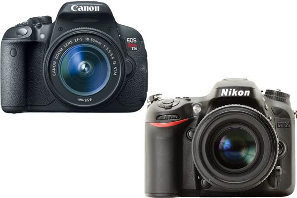 Canon Rebel T5i vs. Nikon D7100