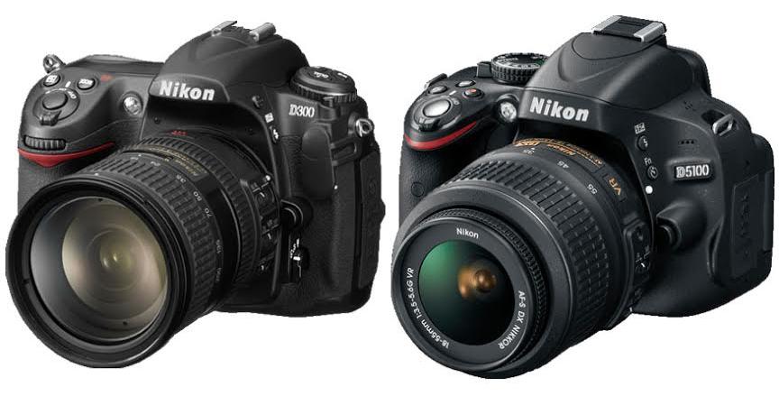 Nikon D300 vs. D5100