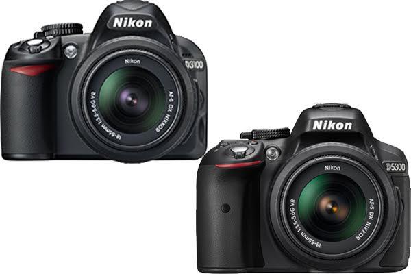 Nikon D3100 vs. D5300