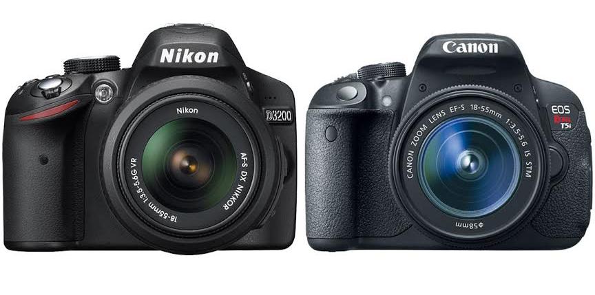 Nikon D3200 vs. Canon T5i