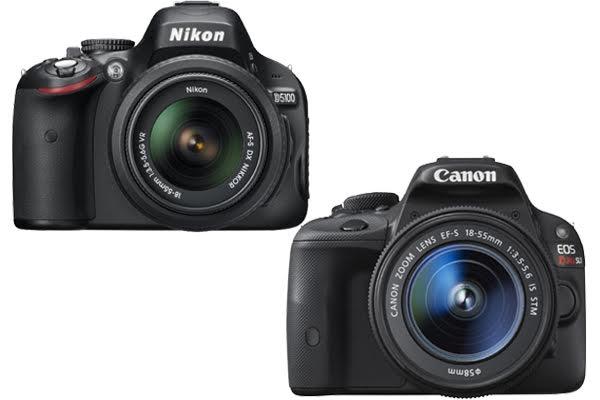 Nikon D5100 vs. Canon SL1