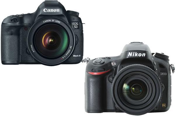 Nikon D610 vs. Canon 5D Mark III