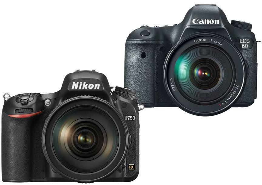 Nikon D750 vs. Canon 6D