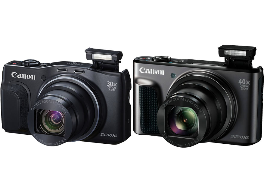 Canon Powershot SX710 HS vs. SX720 HS 1