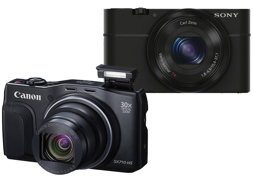 Canon PowershotSX710 HS vs. Sony RX100 1