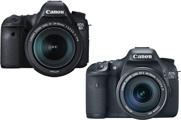 Canon 6D vs. 7D