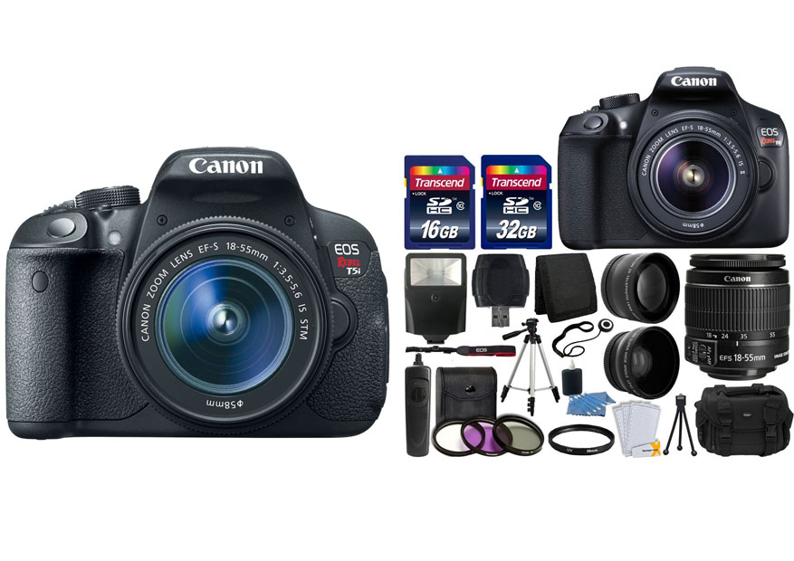 Canon Rebel T5i vs. T6