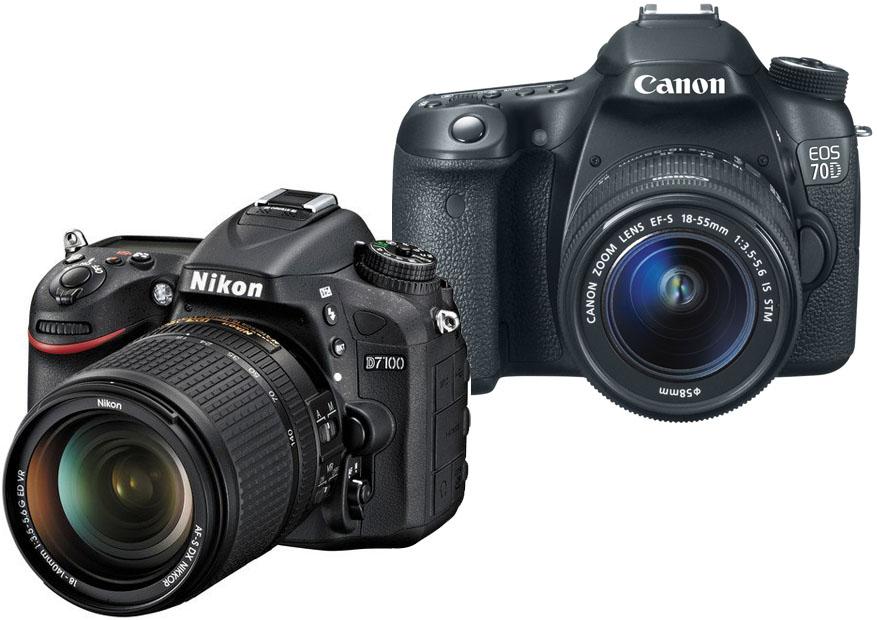 Nikon D7100 vs. Canon 70D