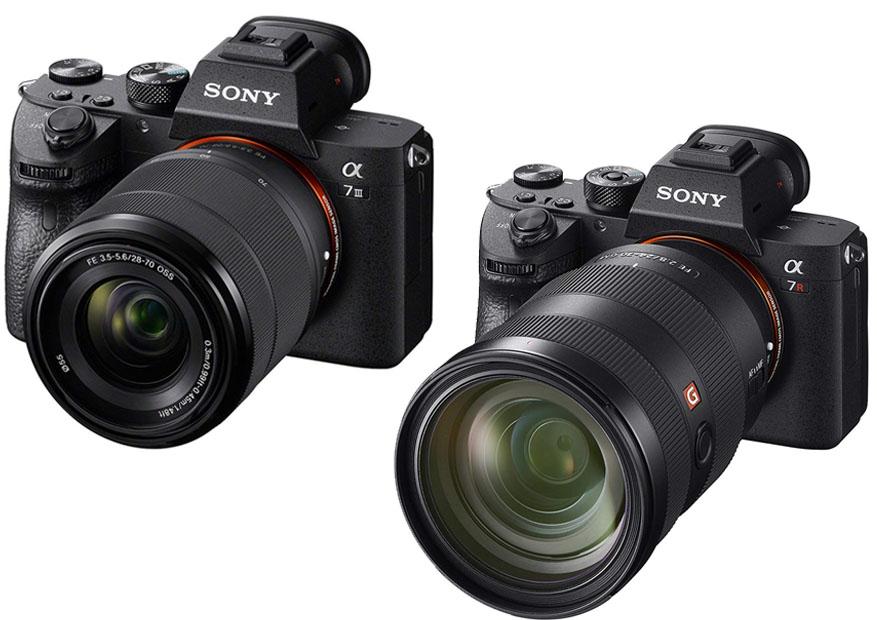 Sony A7III vs  A7RIII   Shootdigitalcameras com