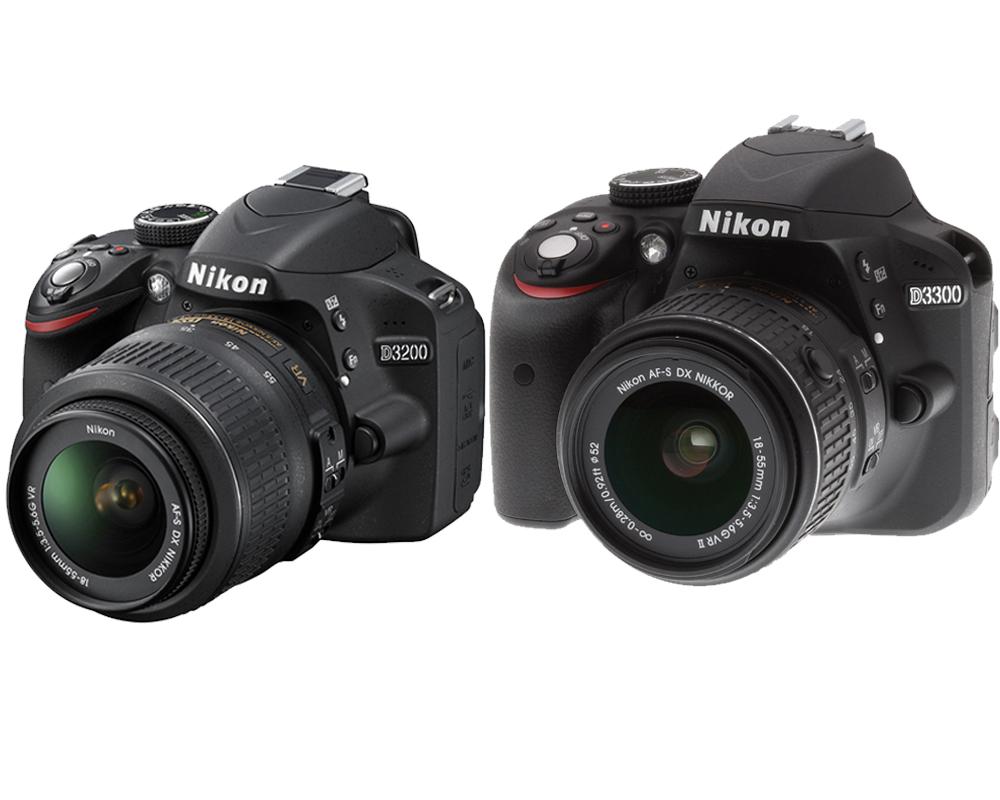 nikon-d3200-vs-nikon-d3300