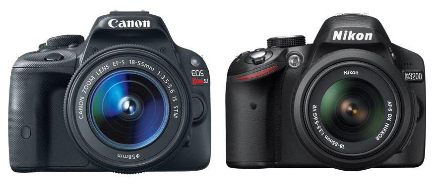 Canon SL1 vs Nikon D3200