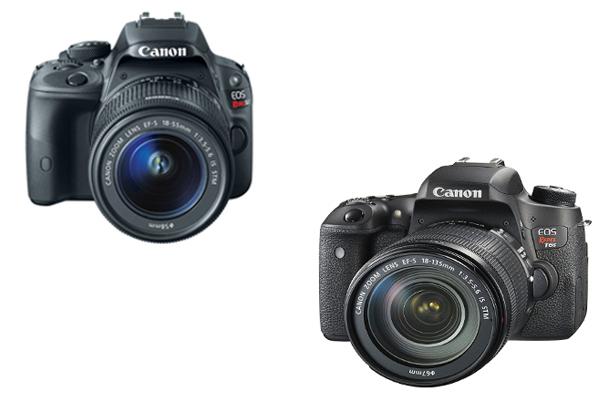 Canon SL1 vs T6