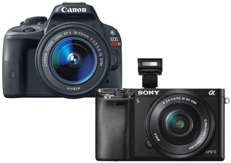 Canon SL1 vs. Sony a6000