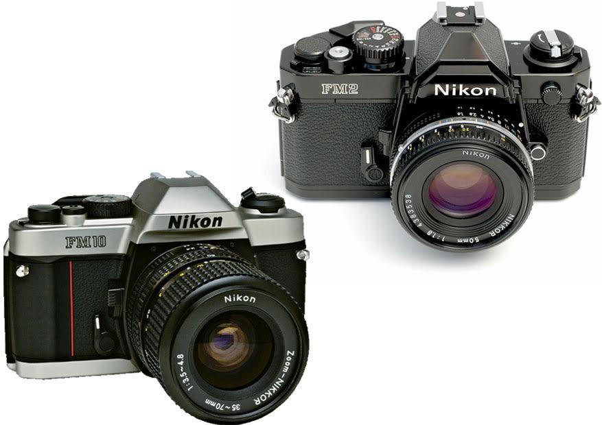 Nikon FM10 vs. FM2