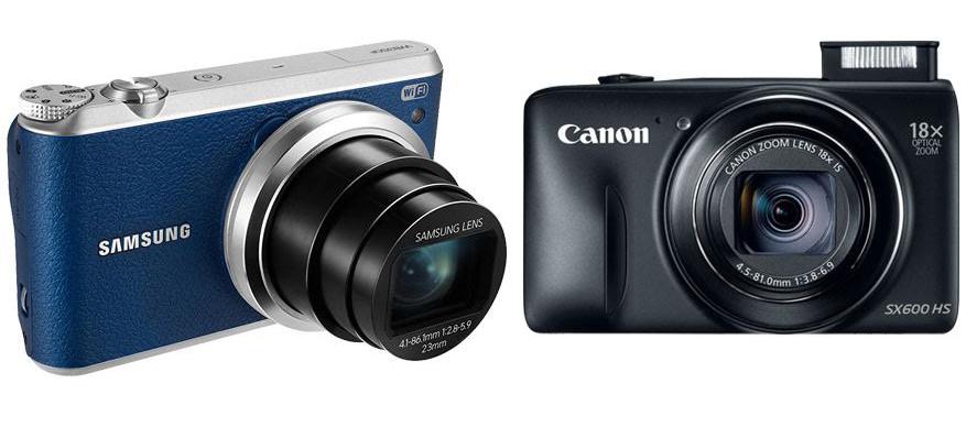 Samsung WB350F vs Canon SX600