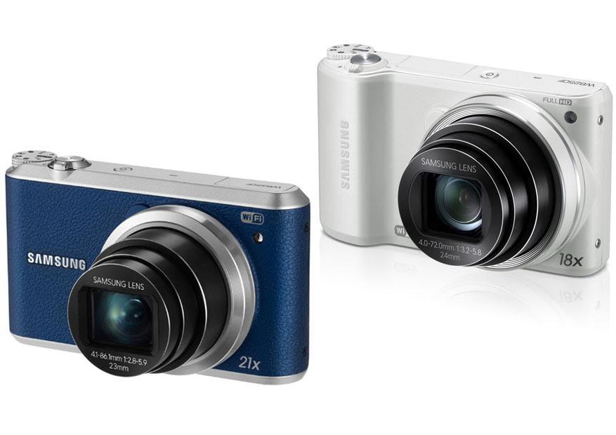 Samsung WB350F vs. WB250F