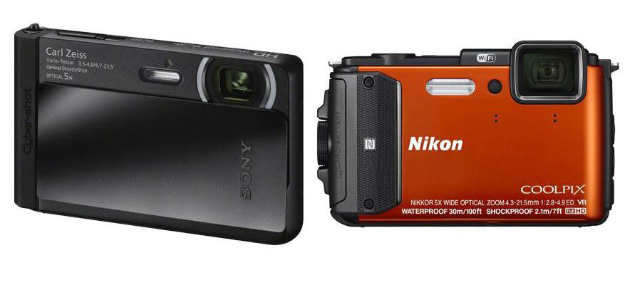Sony DSC TX30 vs Nikon AW130