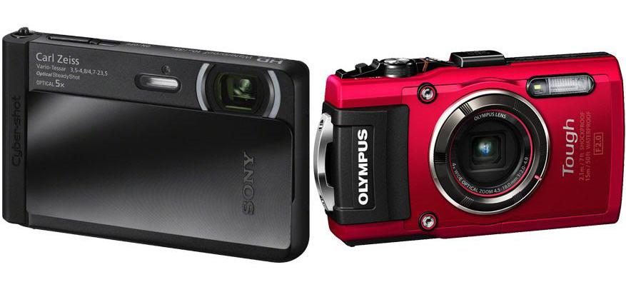 Sony DSC TX30 vs Olympus TG 4