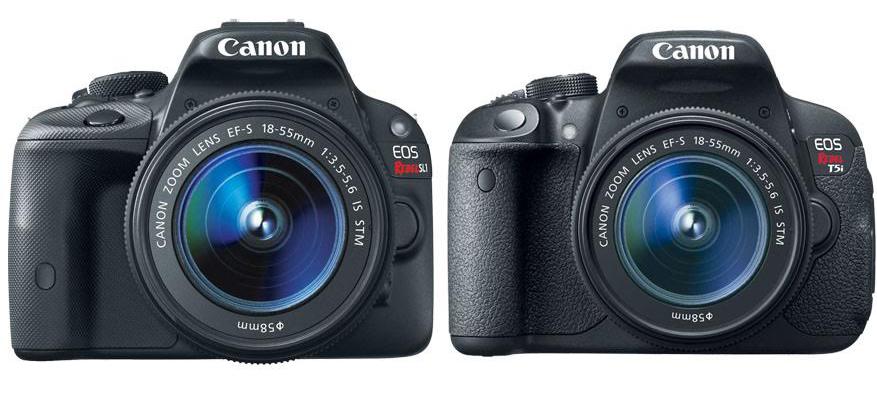 Canon SL1 vs T5i