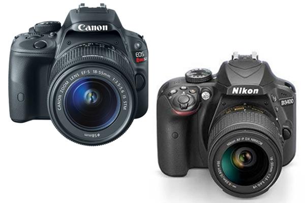 Canon Sl1 vs Nikon D3400
