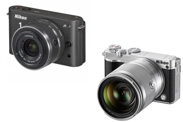 Nikon 1 J1 vs Nikon 1 J5