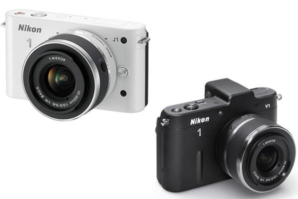 Nikon 1 J1 vs Nikon 1 V1