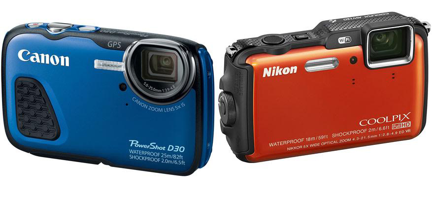 Canon PowerShot D30 vs Nikon Coolpix AW120