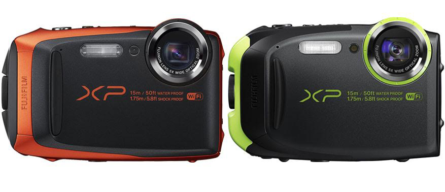 Fujifilm Finepix XP90 vs XP80