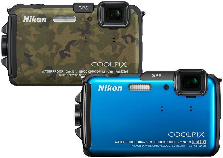Nikon Coolpix AW100 vs AW110