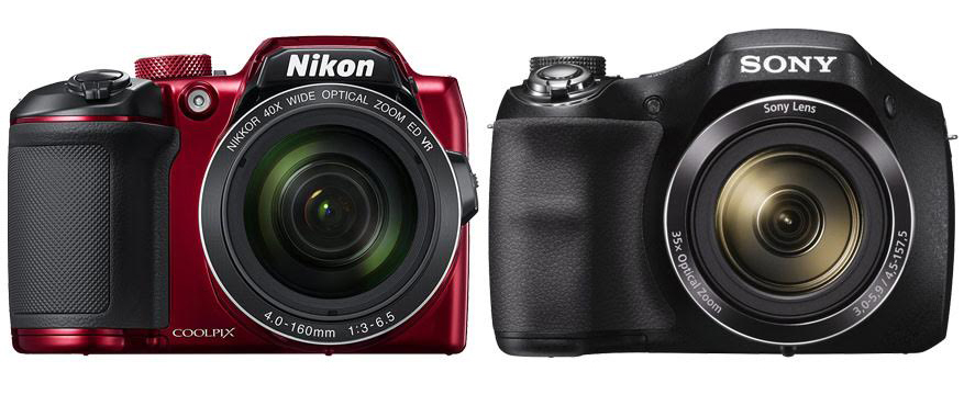 Nikon Coolpix B500 vs Sony DSC H300