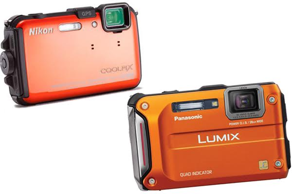 Nikon Coolpix AW100 vs Panasonic Lumix DMC TS4