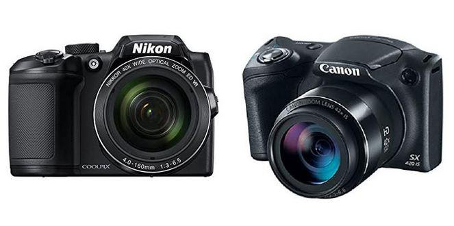 Nikon Coolpix B500 vs Canon Powershot SX420