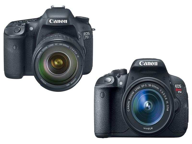 Canon 7D vs T5i