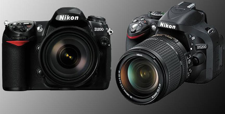 Nikon D200 vs. D5200
