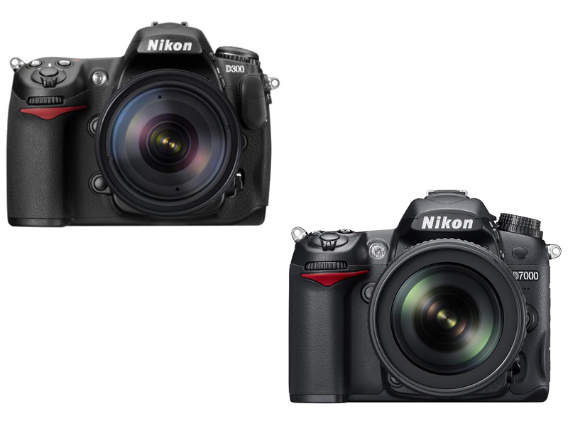 Nikon D300 vs D7000