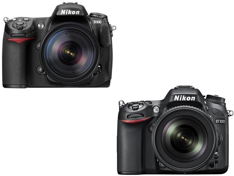 Nikon D300 vs. D7100