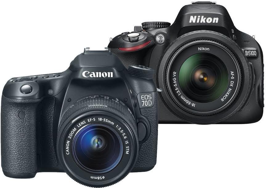 Nikon D5100 vs. Canon 70D
