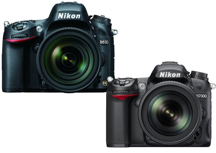 Nikon D610 vs. D7000