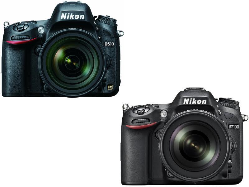 Nikon D610 vs. D7100