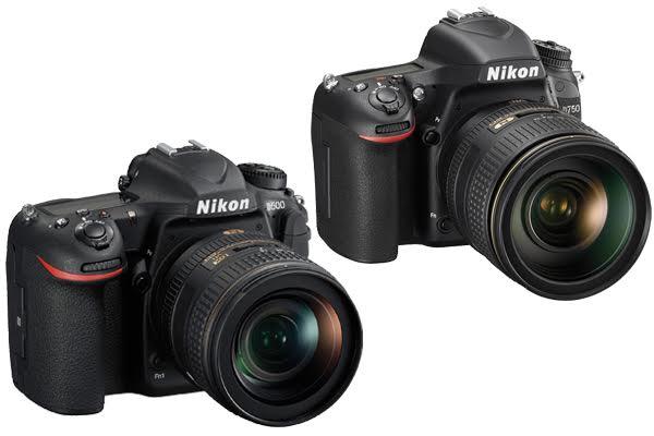 Nikon D750 vs. D500
