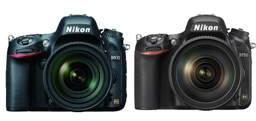 Nikon D750 vs. D610