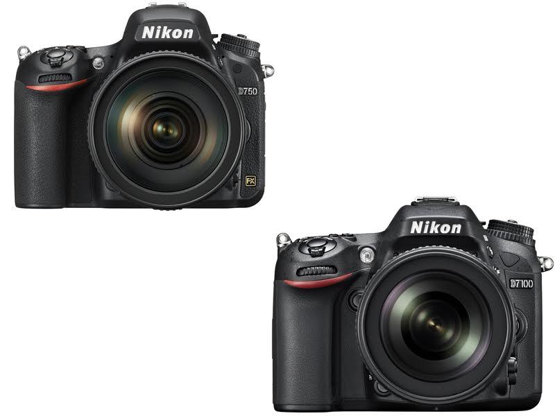 Nikon D750 vs. D7100