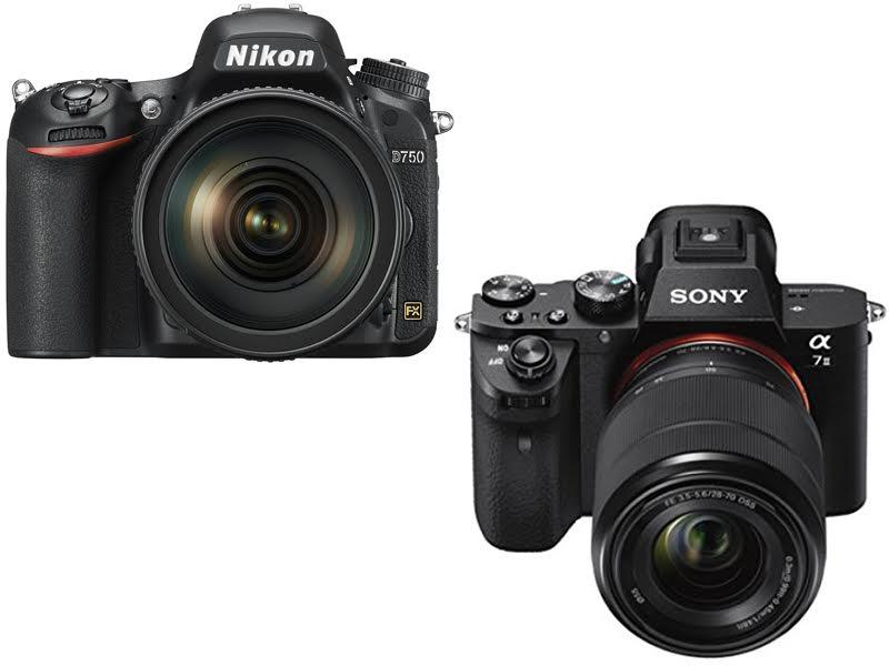 Nikon D750 vs. Sony A7II