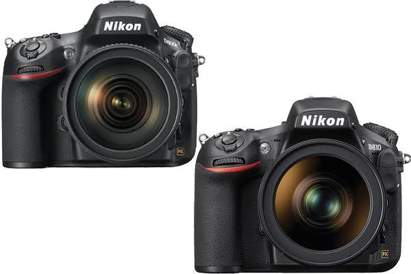 Nikon D800E vs. D810