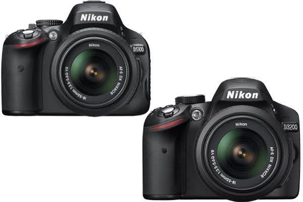 Nikon D5100 vs. D3200