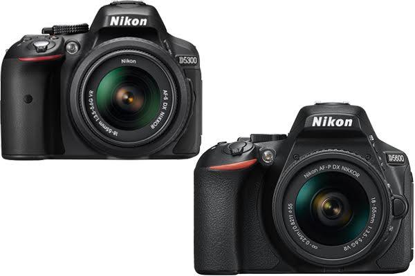 Nikon D5300 vs. D5600