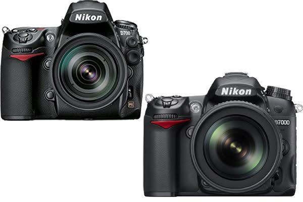 Nikon D700 vs. D7000