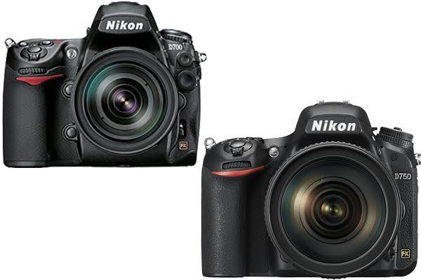 Nikon D700 vs. D750
